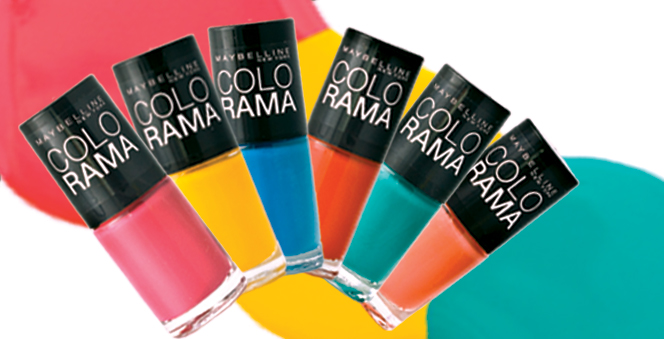 Colorama: Τα νέα βερνίκια νυχιών της Maybelline  Τα έντονα βαμμένα νύχια είναι το must της σεζόν. Ακολουθήστε πιστά μια από τις πιο δυνατές τάσεις και τολμήστε μια μοντέρνα πινελιά στην εμφάνισή σας.