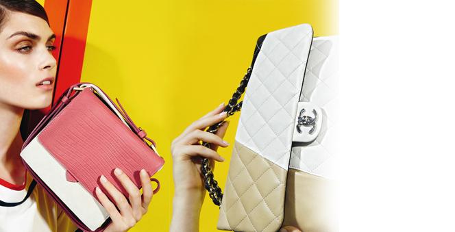 Έχετε δει τις ωραιότερες τσάντες της άνοιξης;  Ρίγες, έντονα χρώματα, γεωμετρικά σχήματα και το εφέ του colour block χαρακτηρίζουν το αγαπημένο αξεσουάρ των γυναικών αυτή τη σεζόν.