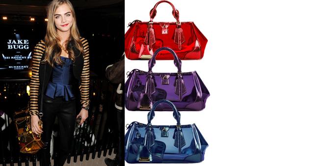 Blaze: Η νέα It-bag του οίκου Burberry  Το εντυπωσιακό μοντέλο του brand για τη σεζόν Άνοιξη/Καλοκαίρι 2013 κλέβει την παράσταση.