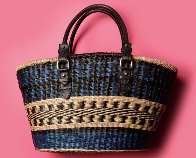 H Ιζαμπέλ Μαράν πάει παραλία  Ο διάσημος οίκος κυκλοφορεί μια μίνι συλλογή με τσάντες γεμάτες χρώματα.