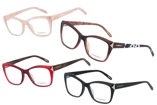 78d5458e27 Σοφιστικέ γυαλιά οράσεως από τον οίκο Givenchy - ELLE
