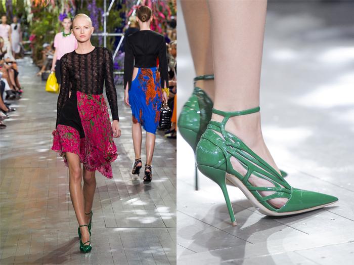 Dior Μυτερές γόβες με περίτεχνες λεπτομέρειες προτείνει ο θρυλικός οίκος. 60d0ad800ac