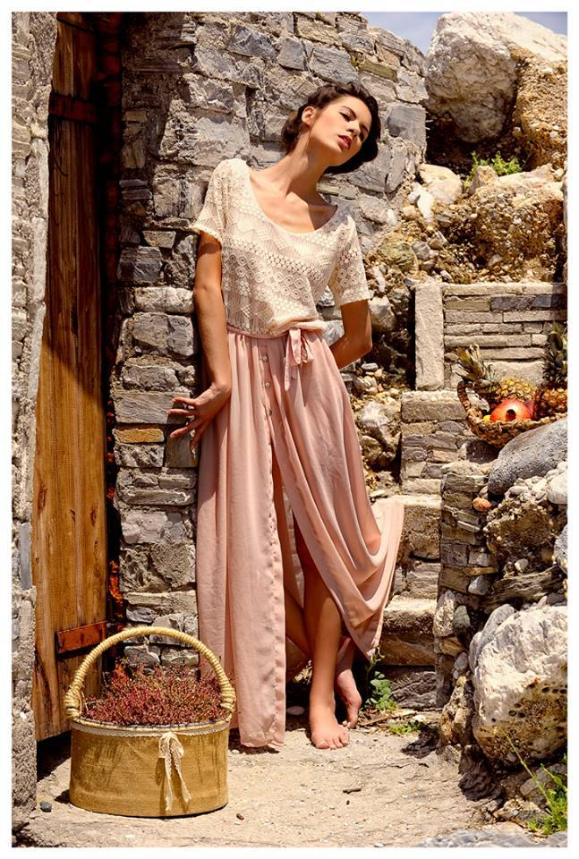 Φόρεμα «Σαντορίνη» από τη συλλογή Άνοιξη Καλοκαίρι 2014 του brand dent elle. f382d7cc022