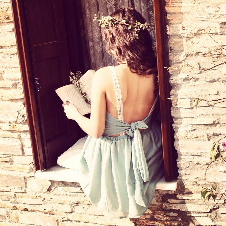 Φόρεμα «Κύθηρα» από τη συλλογή Άνοιξη καλοκαίρι 2014 του brand dent elle. 08179fb326f