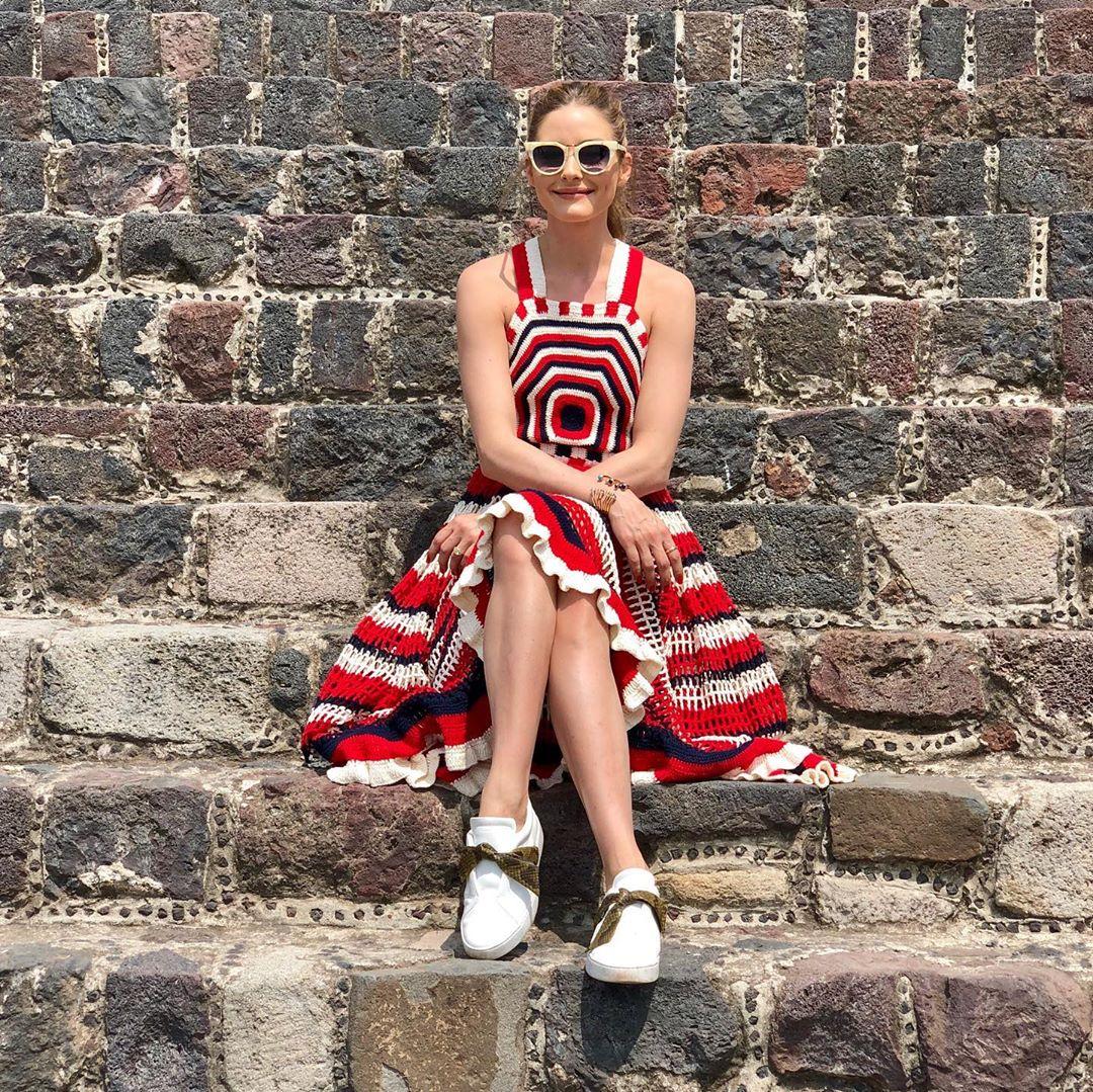 Βρήκαμε το σούπερ καλοκαιρινό φόρεμα της Olivia Palermo