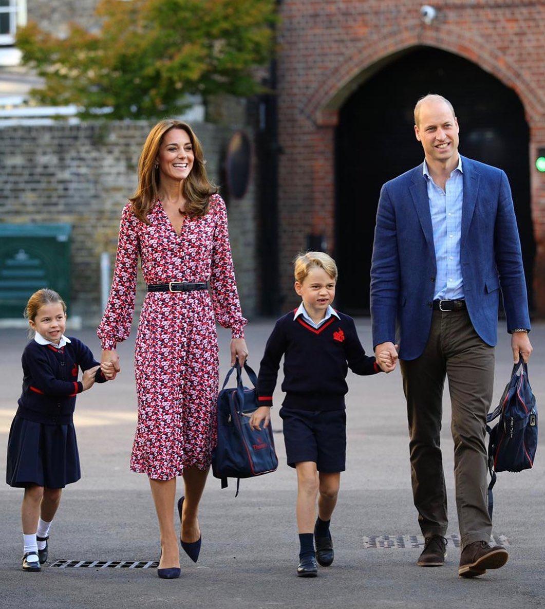 Kate Midletton: Τι φόρεσε για να συνοδεύσει τα παιδιά της στο σχολείο;