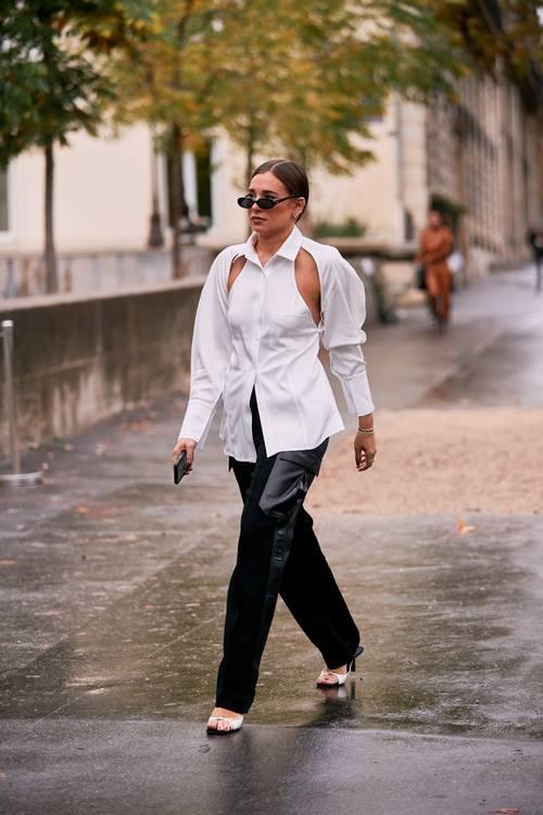10 hot συνδυασμοί με δερμάτινο παντελόνι