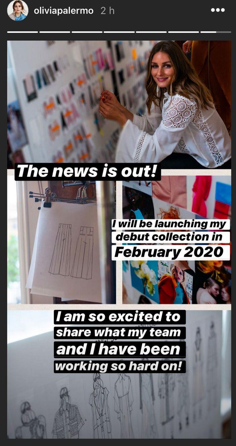 Η Olivia Palermo θα λανσάρει το δικό της fashion brand!