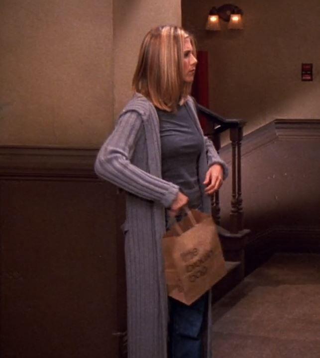 Η ζακέτα που φορούσε η Rachel Green είναι η τάση της άνοιξης
