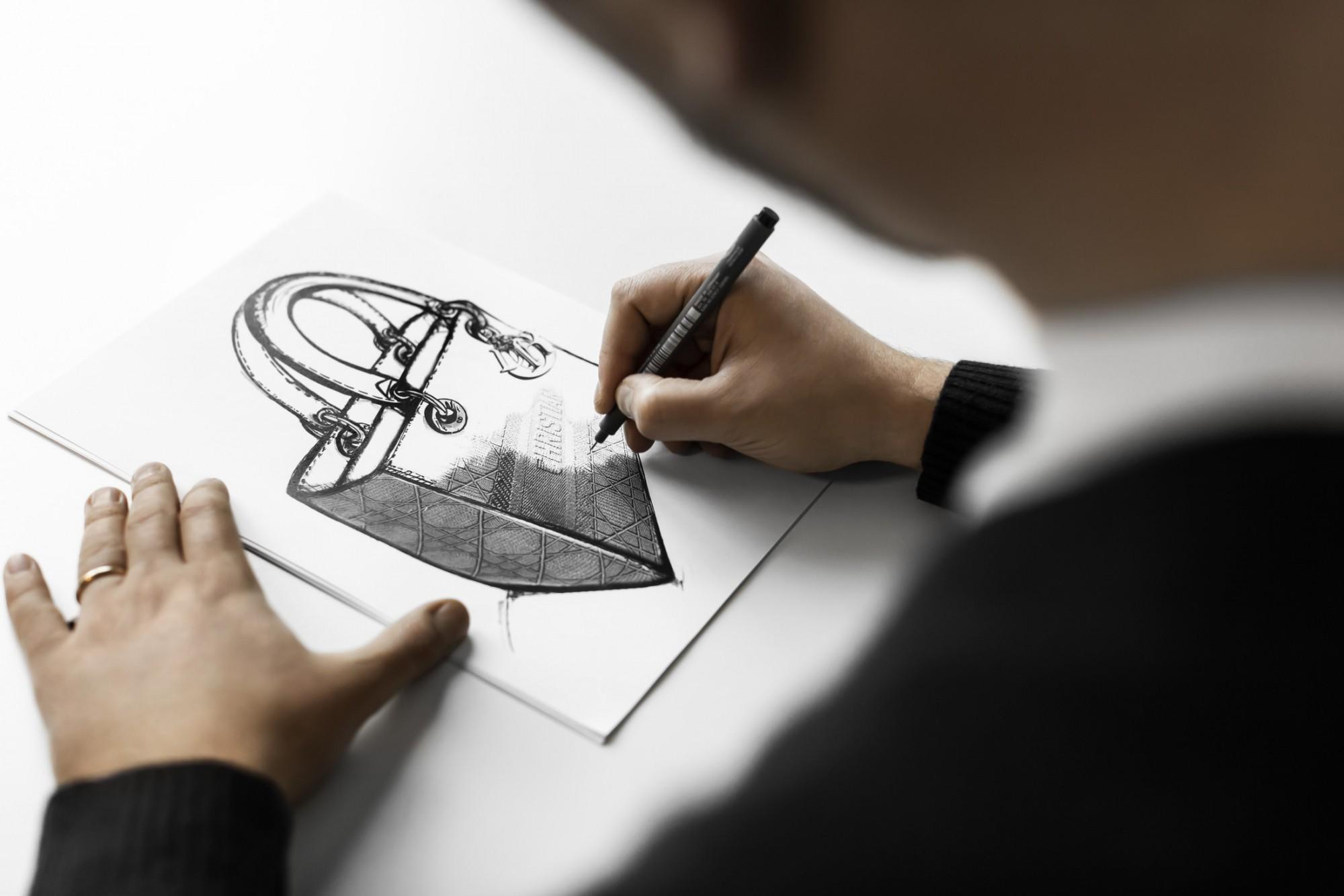 Πώς δημιουργείται η Lady D-Lite του οίκου Dior;