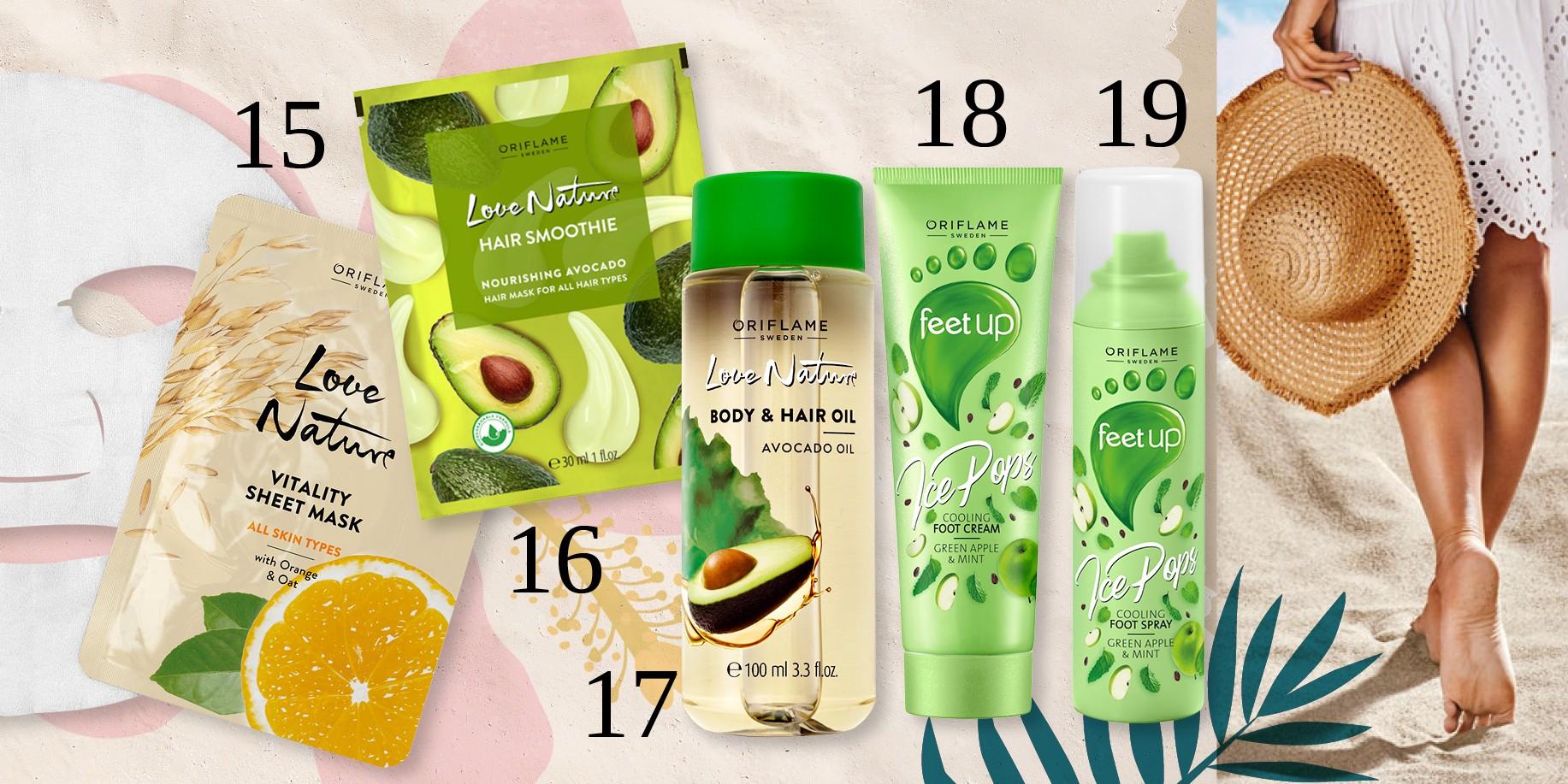 Η τυχερή που κερδίζει το καλοκαιρινό νεσεσέρ Oriflame με 26 προϊόντα αξίας €402