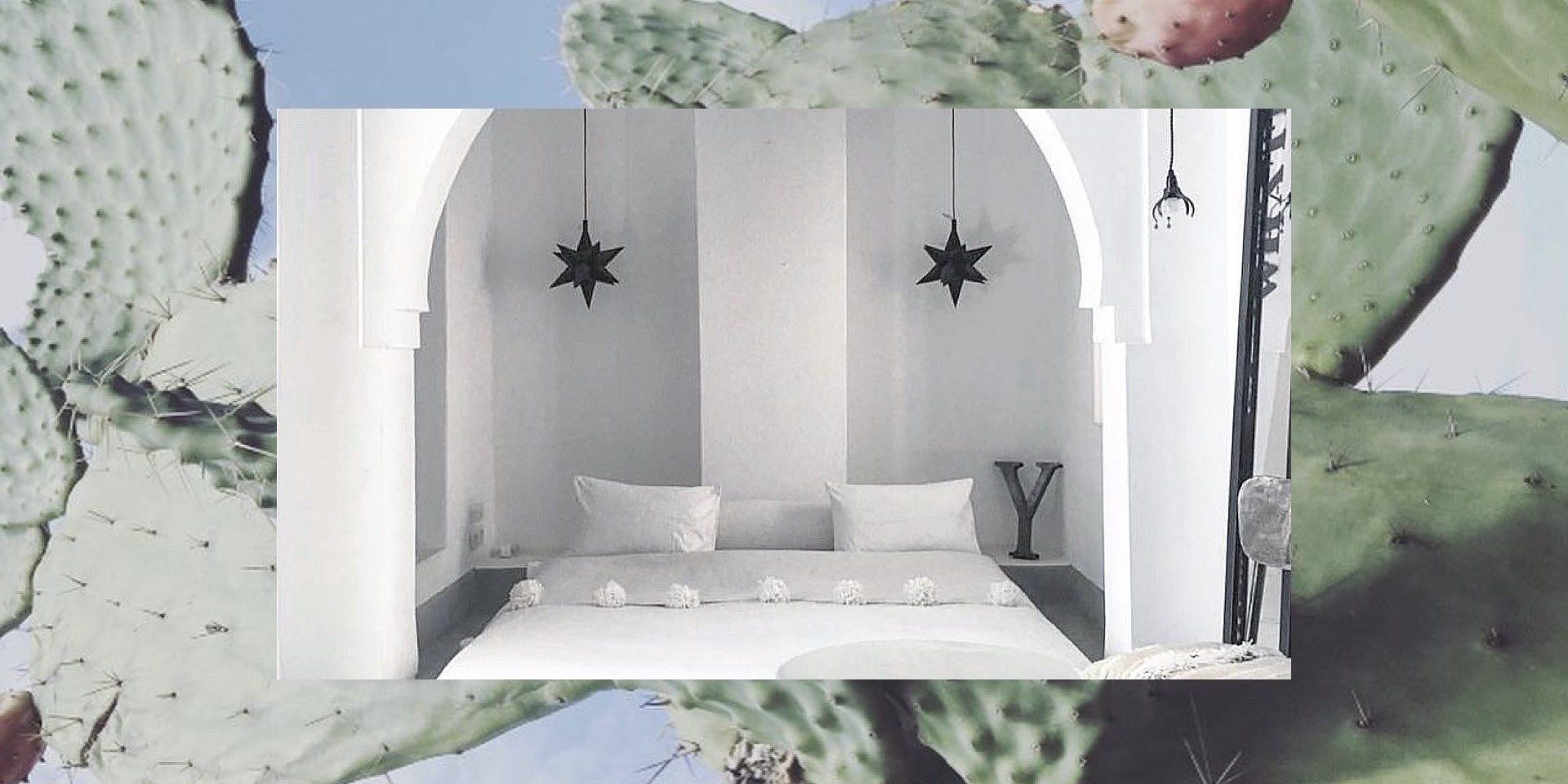 Έρωτας στο Μαρακές: Ένα ριάντ για χίλιες και μία απολαύσεις! Αυτή η κατοικία στο ανατολικό τμήμα της Medina, ισορροπεί άψογα μεταξύ του παραδοσιακού μαροκινού στυλ και του μοντέρνου design. Ανακαλύψτε την και ίσως μείνετε εκεί, αφού είναι διαθέσιμη για ενοικίαση στην πλατφόρμα Αirbnb.