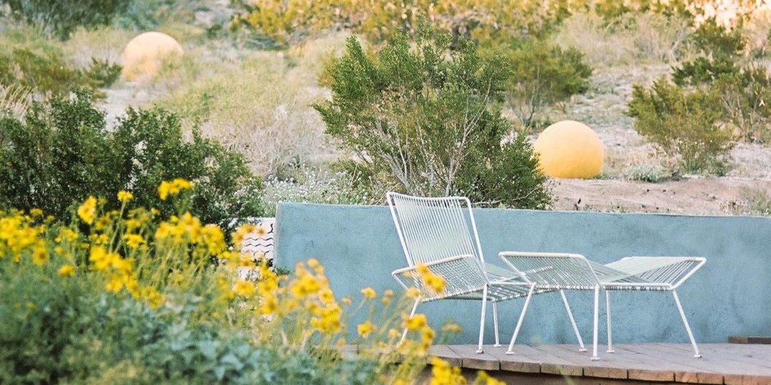 Ένα σπίτι στην καρδιά της ερήμου Η σιωπή αποκτά άλλη σημασία σε αυτή την boho style κατοικία στην Morongo Valley της Καλιφόρνια.