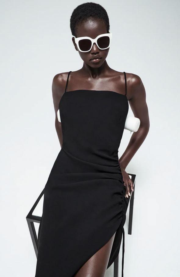 Ντραπέ φόρεμα, Zara.