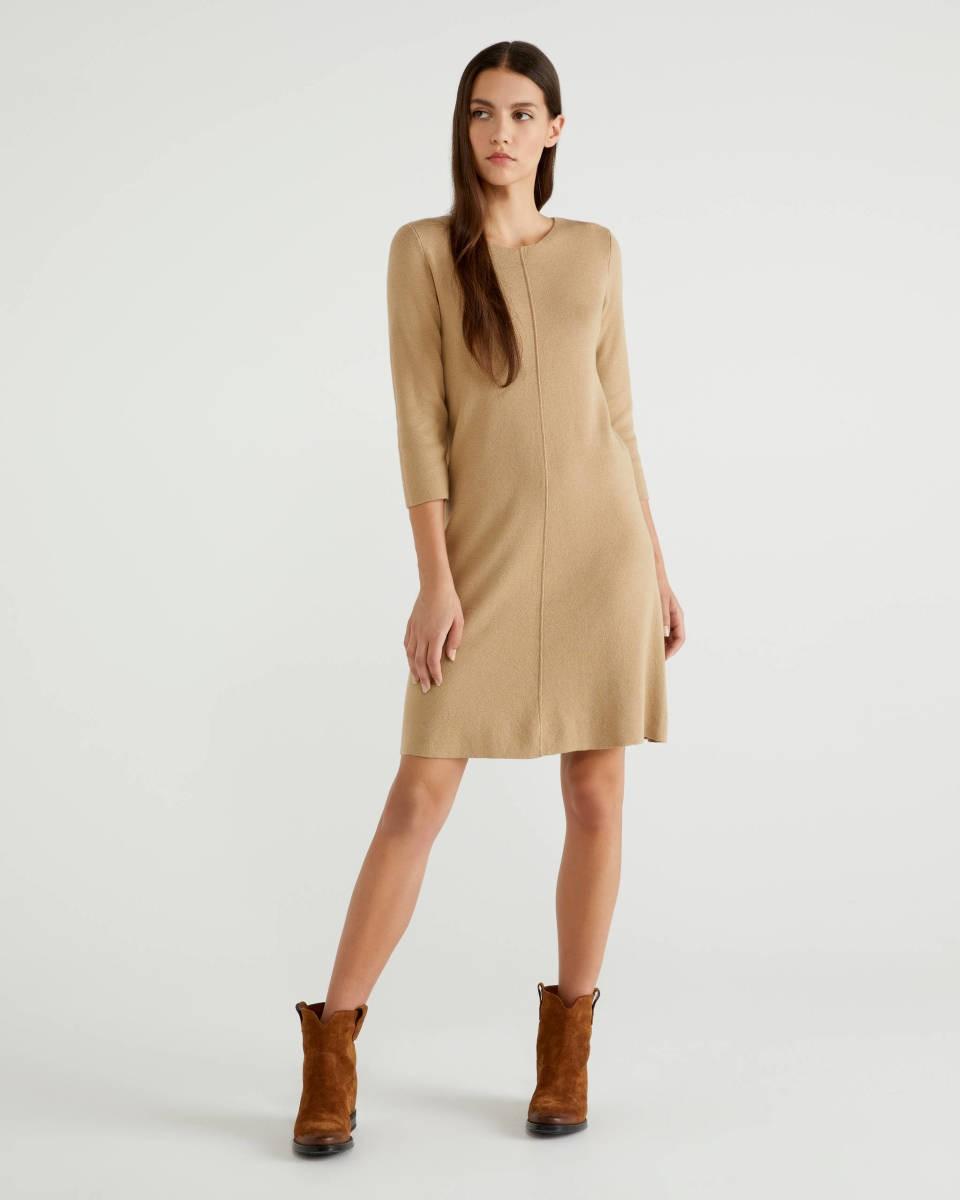 Πλεκτό φόρεμα, Benetton.