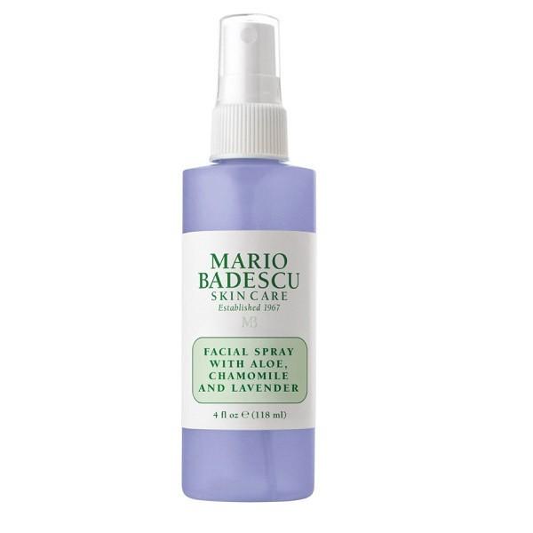 Mario Badeccu facal spray with aloe chamomile and lavender