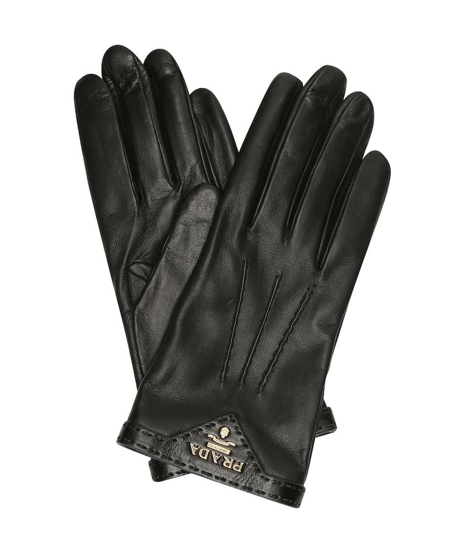 Δερμάτινα γάντια, Prada.