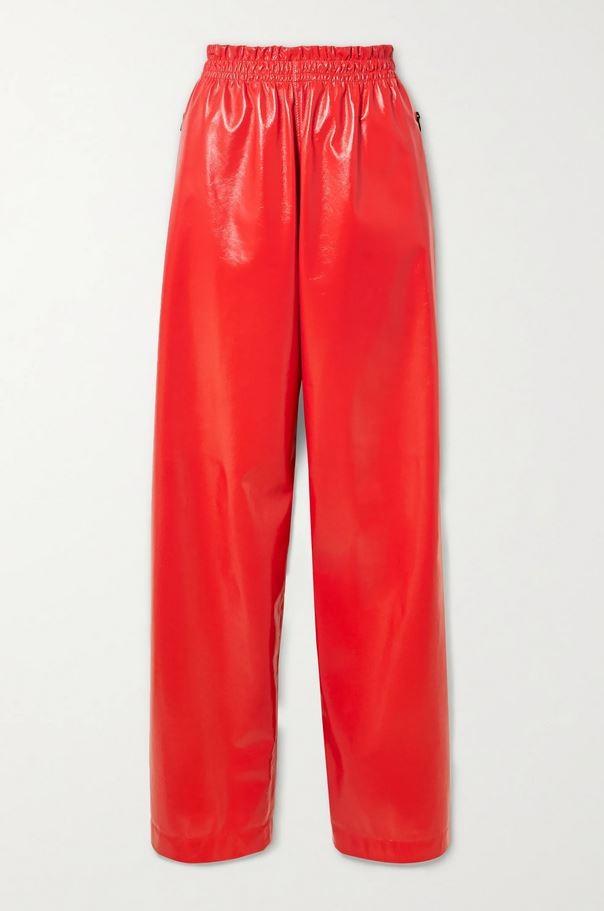 Κόκκινο παντελόνι, Bottega Veneta.