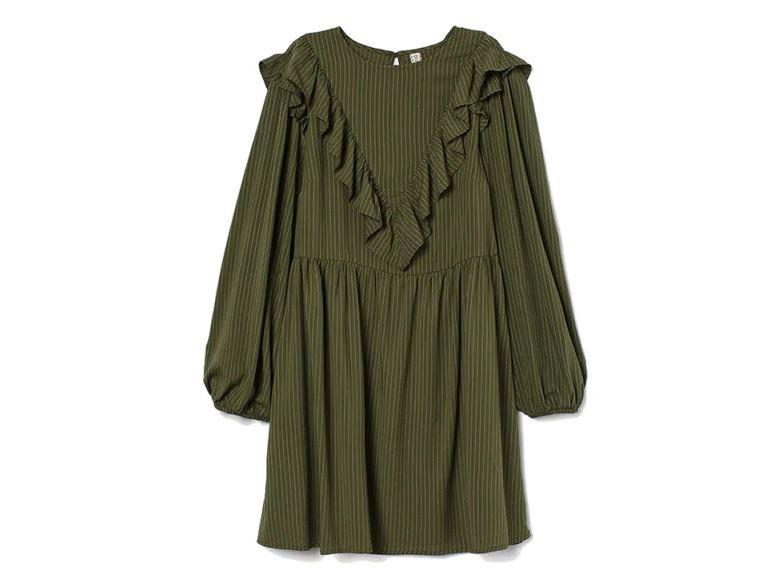 Χακί φόρεμα, H&M.