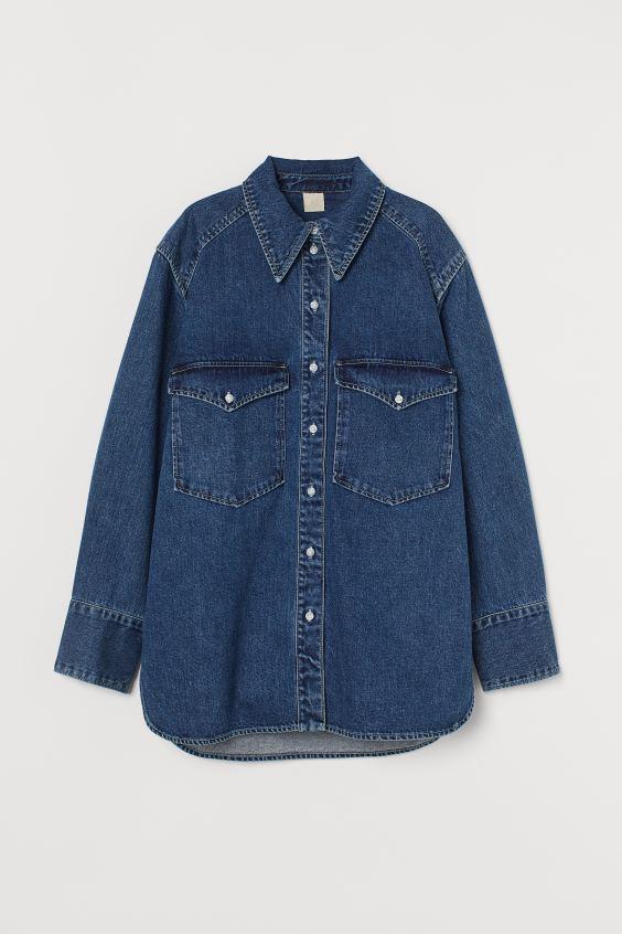 Τζην πουκάμισο, H&M.