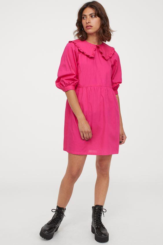 Φόρεμα φούξια, Η&Μ.
