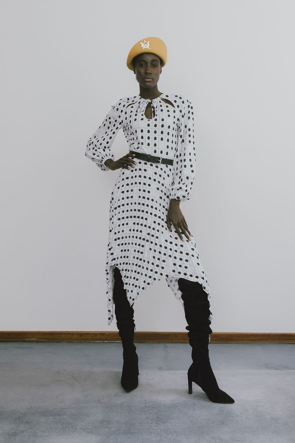 Δημιουργίες από την συλλογή Άνοιξη/Καλοκαίρι 2021 του οίκου Thebe Magugu.
