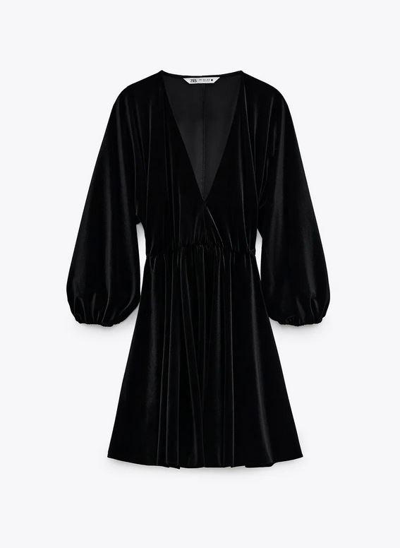 Μαύρο φόρεμα, Zara.