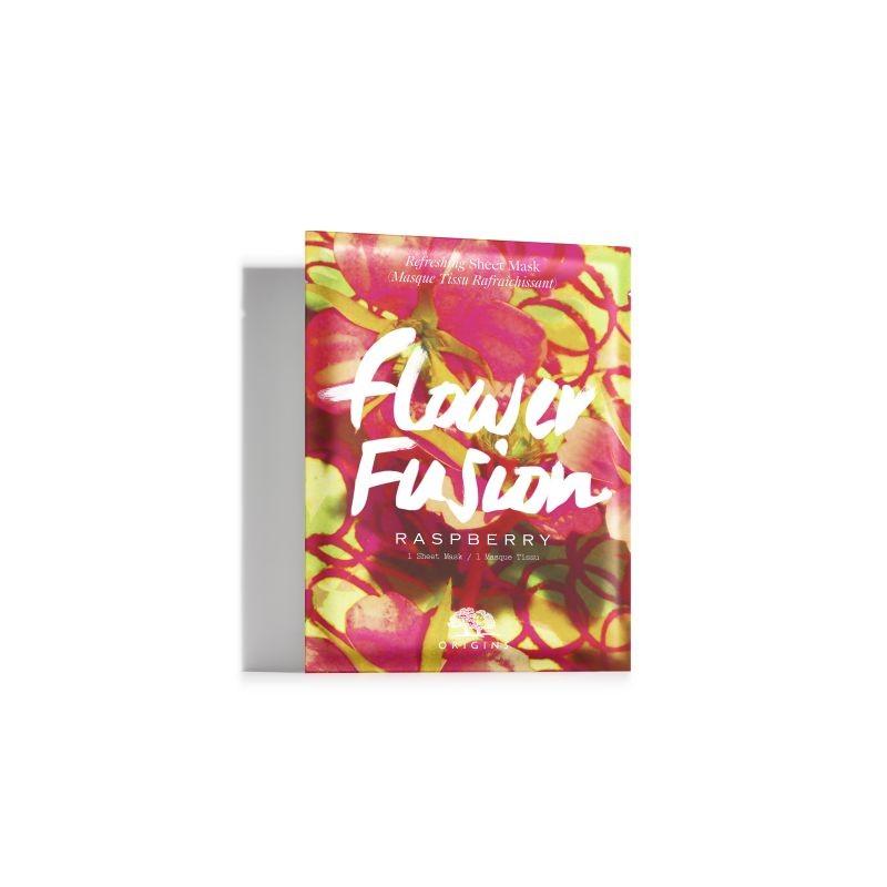 Sheet μάσκα Flower Fusion Sheet Mask Raspberry, της Origins.