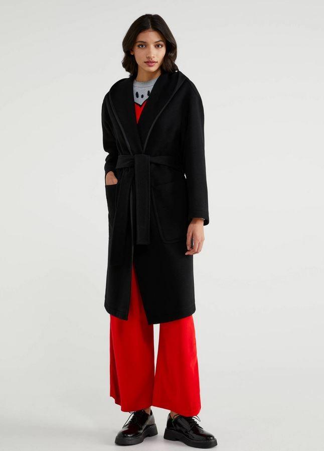Παλτό με κουκούλα, Benetton.