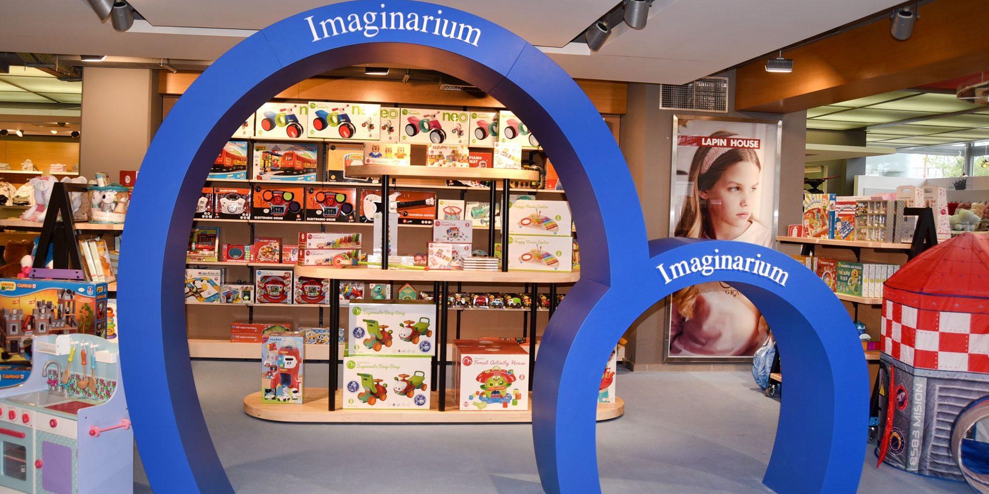 Τα Ιmaginarium έφτασαν στην οικογένεια Lapin Το αγαπημένο σε όλους brand παιχνιδιών Imaginarium γίνεται το κομμάτι που έλειπε από το παζλ μιας ευφάνταστης και υψηλού επιπέδου συλλογής από τα πιο δυνατά ονόματα της αγοράς.