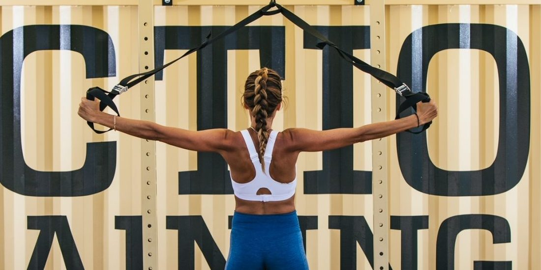 Let's talk TRX: Όλα όσα πρέπει να ξέρεις για τη γυμναστική με ιμάντες από τη Δήμητρα Μάρκου