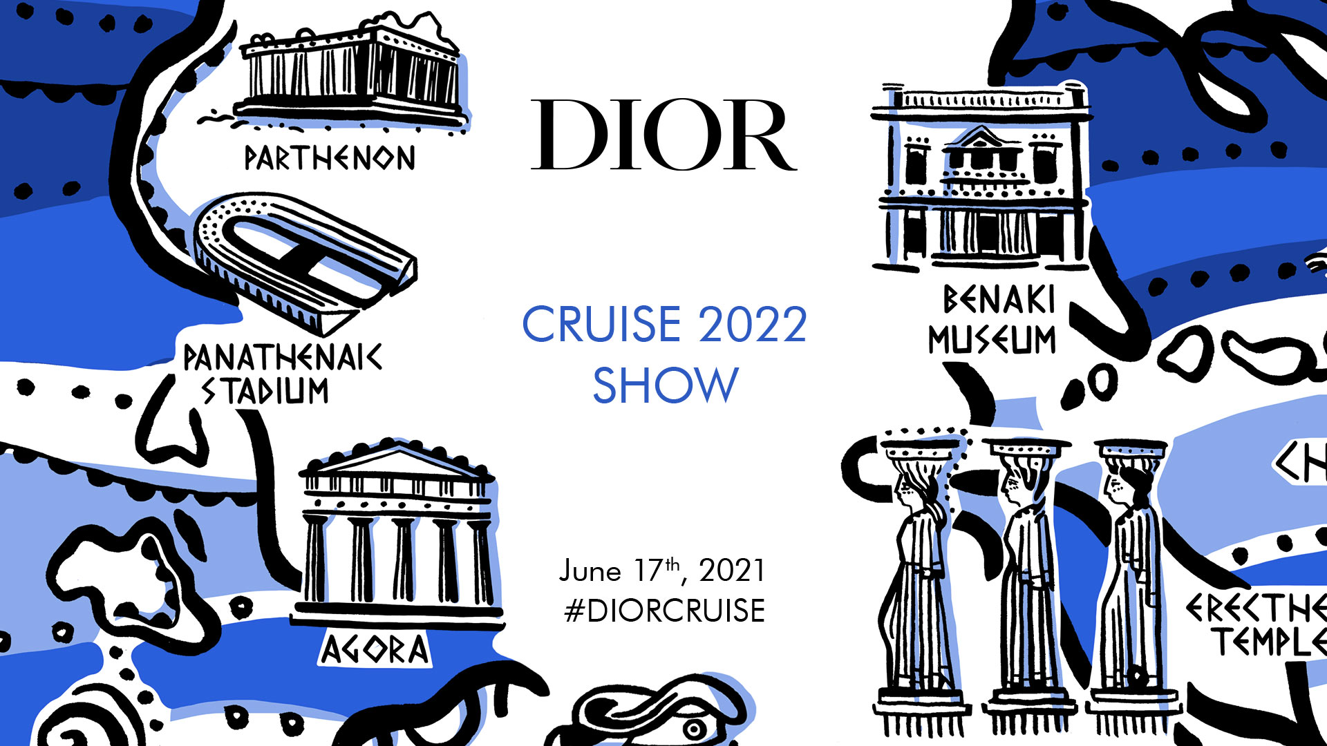Παρακολουθήστε live το Dior Cruise 2022 show από το Καλλιμάρμαρο στο ELLE.gr