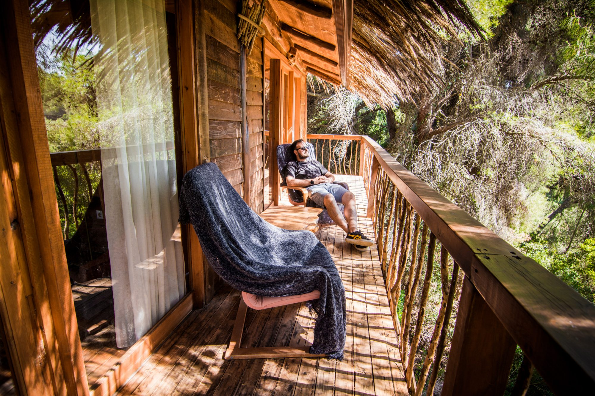 Ειδυλλιακές διακοπές σε δεντρόσπιτο: Εσύ θα το τολμούσες;