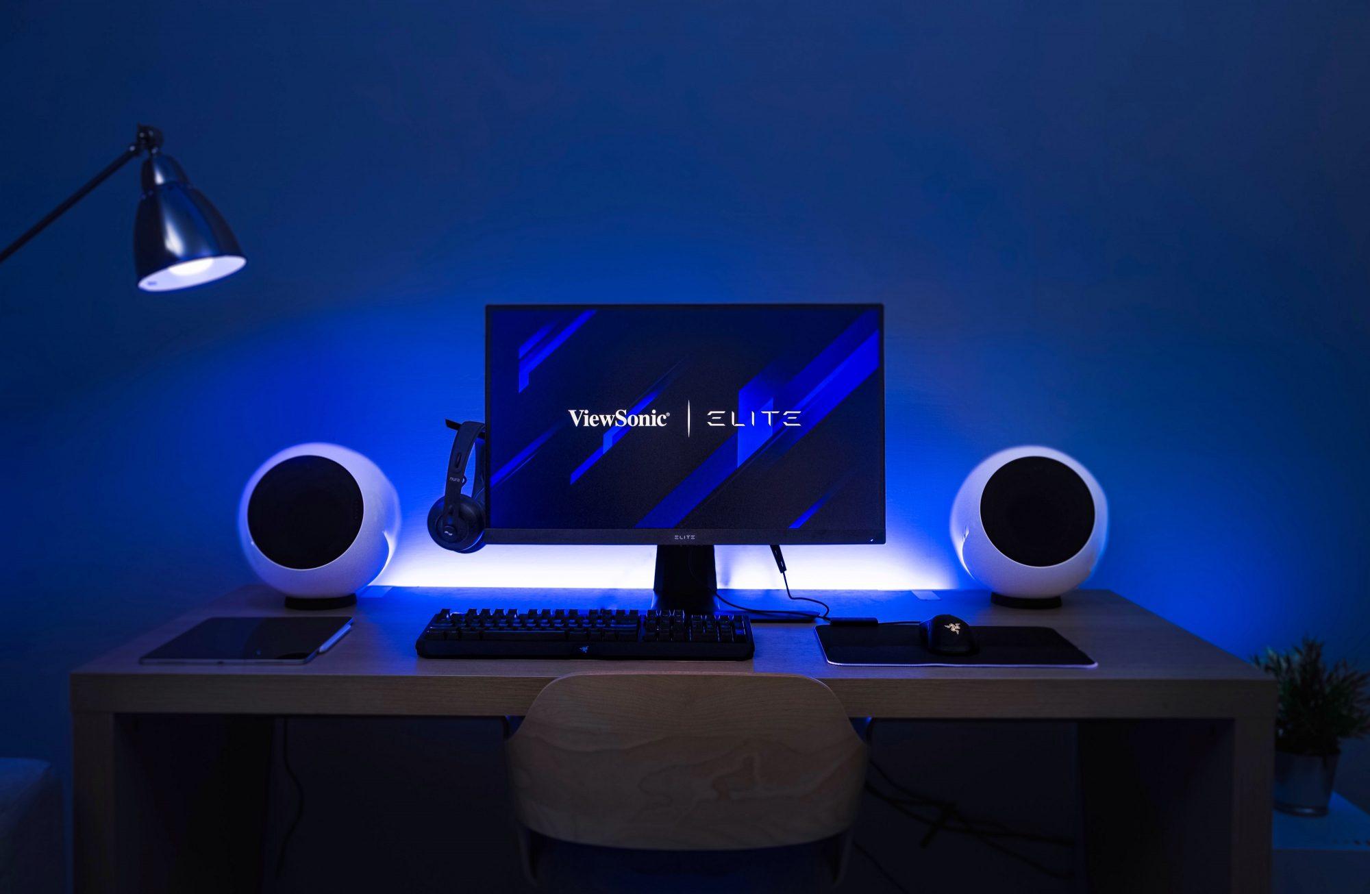 Η ViewSonic παρουσιάζει τα νέα ELITE monitors με τις τελευταίες gaming τεχνολογίες Απολαύστε next-level καθήλωση με HDMI2.1, Mini-LED και Quantum Dot από τη ViewSonic.